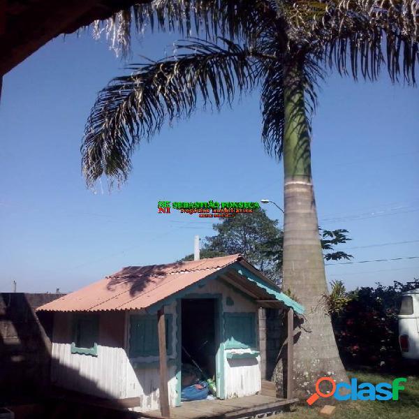 Casa na zona norte, chácara jaguari - troca por casa