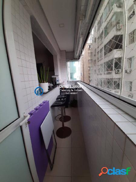 Vista mar -3 dormitórios 1 suíte - lazer completo- 2 vagas