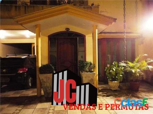 Casa comercial/residencial- centro santo andre- ac/50% permuta sp/litoral