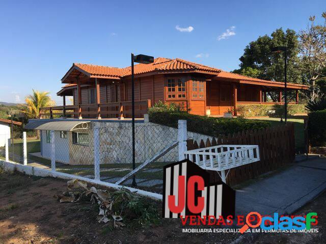 Iperó chacara condominio 120km distante s.paulo ac/60%permuta vários locais