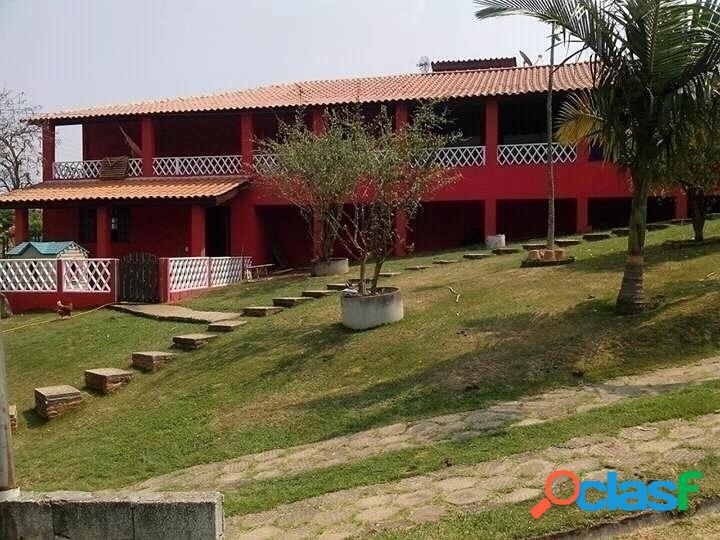 Linda chácara condomínio fechado atibaia 2.480 m²