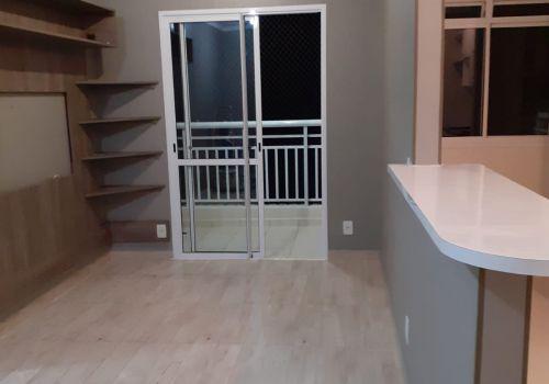 Aluga-se apartamento 2 quartos com segurança e lazer