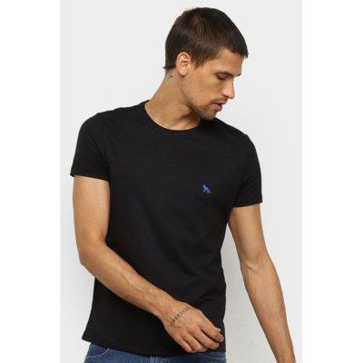 Camiseta acostamento manga curta preto tam. g