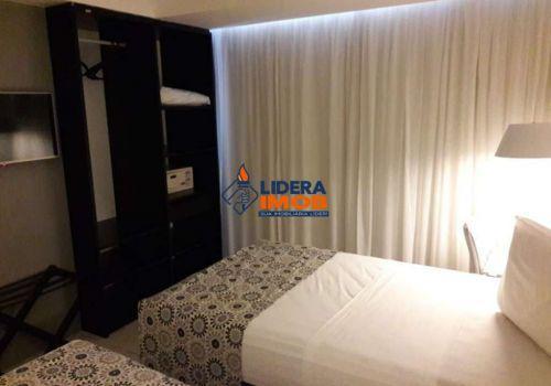 Lidera imob - apartamento loft mobiliado, 1 quarto, para