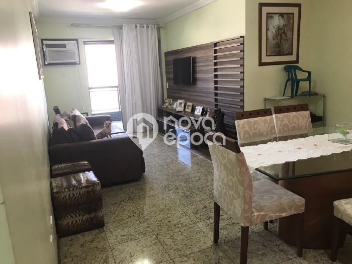 Méier, 3 quartos, 2 vagas, 108 m² rua silva rabelo,