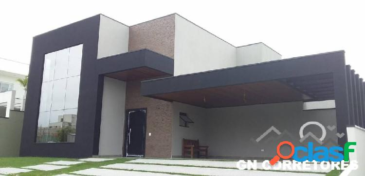 Maravilhosa casa térrea alto padrão urbanova