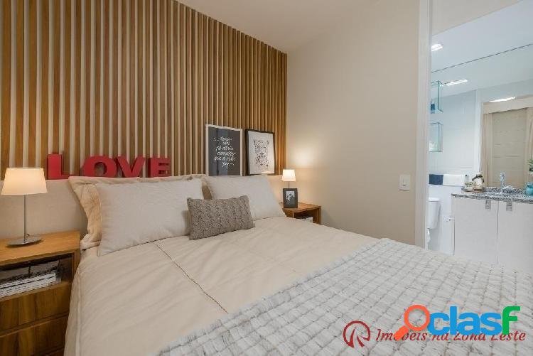 Apartamento 3 dorm, suíte, sacada, 59m², vaga - Belém 1