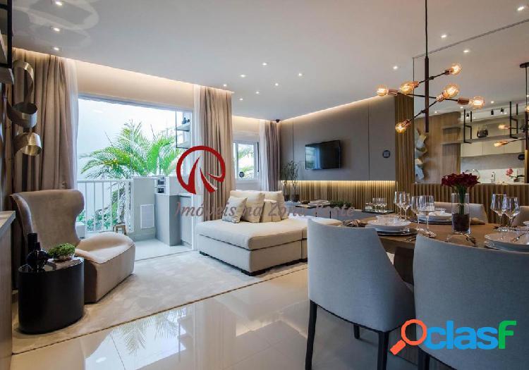 Apartamento Garden 3 dorms, suíte, 122m², vaga, varanda, pronto - Belém 1