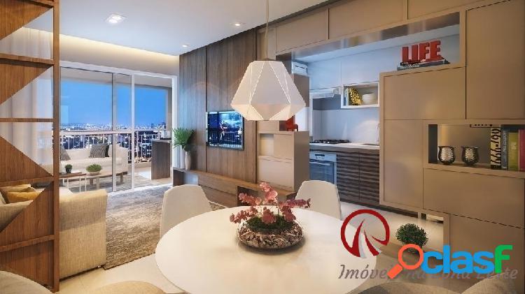 Apartamento Garden 3 dorms, suíte, 122m², vaga, varanda, pronto - Belém 2