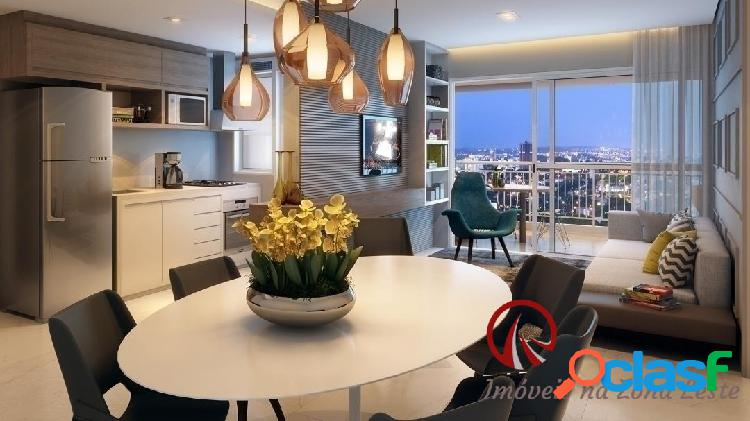 Apartamento Garden 3 dorms, suíte, 122m², vaga, varanda, pronto - Belém 3