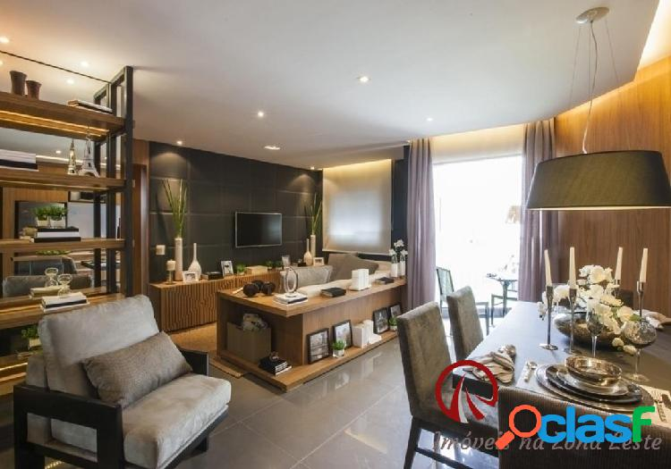 Apartamento 3 dorms, suíte, sacada, 65m, vaga - Belém 3