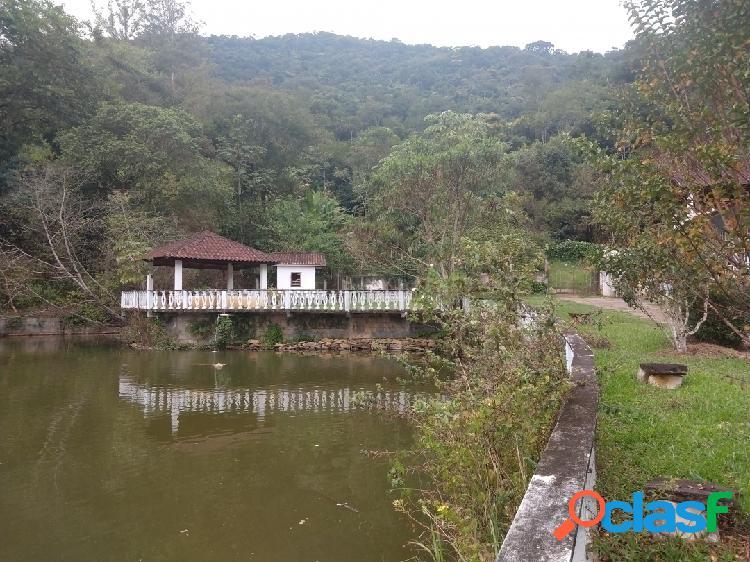 Chácara 3,5 alqueires em são josé dos campos/sp com lago e casa sede