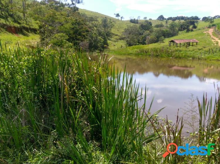 Sítio de 6 alqueires à venda em lagoinha/sp com casa sede, curral e piscina