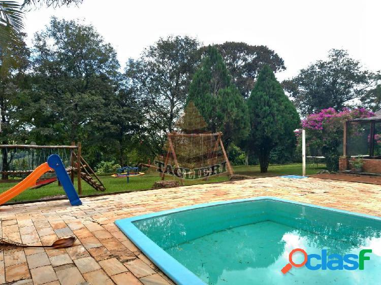Sitio c/ 20000 m2 c/casa 2 suites piscina + chalé poço artesiano