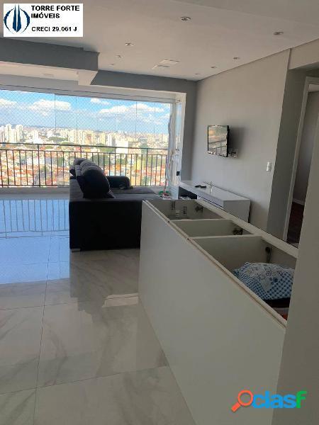 Lindo apartamento com 2 dormitórios e 1 vaga no Jardim Flor da Montanha 3