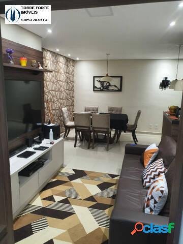 Apartamento com 3 dormitórios, suíte, varanda gourmet e 1 vaga no belém