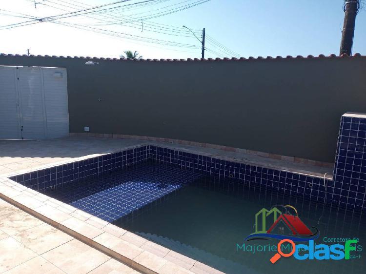 Imóvel novo 3 dormitórios com piscina!!! lado praia!!!