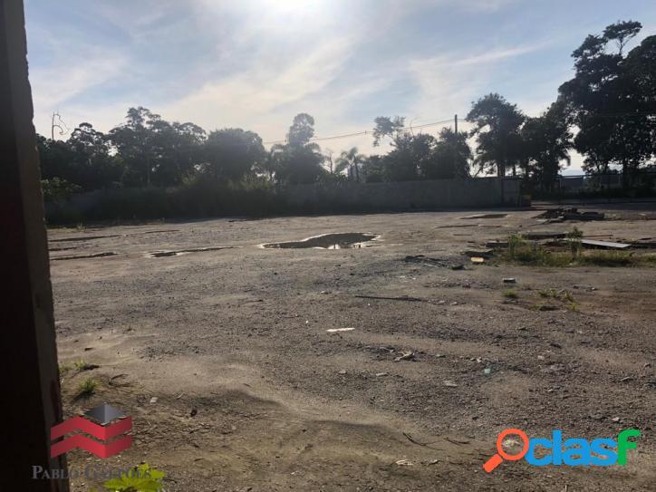 Terreno locação 4.060 m² ao lado estrada romeiros, santana de parnaíba,sp
