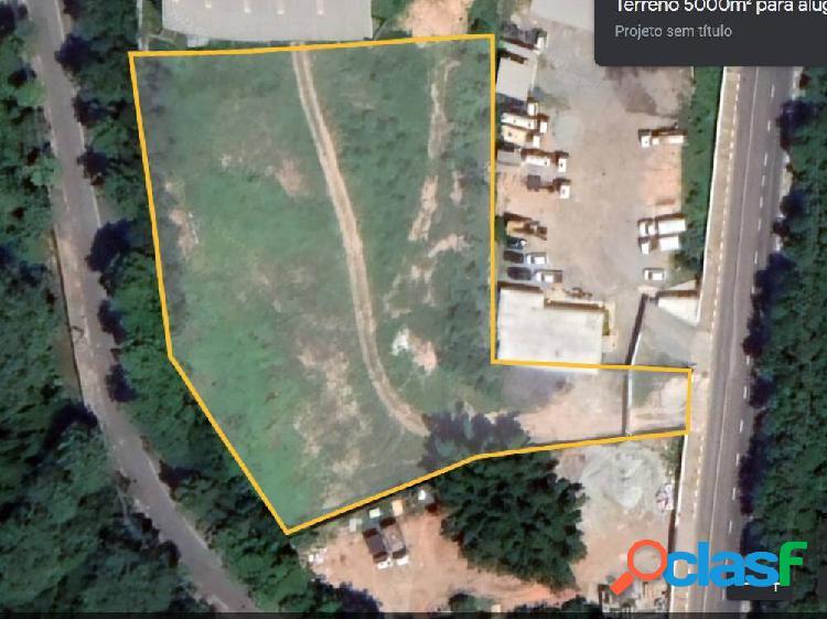 Terreno locação 5.000 m² barueri - sp