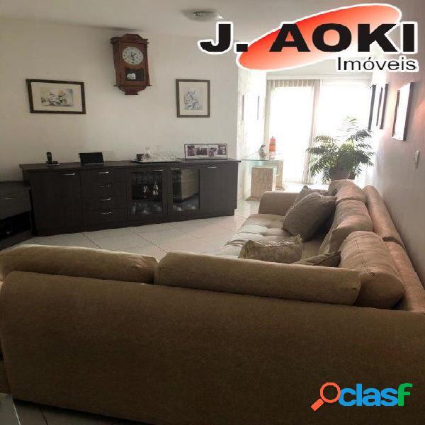 Ótimo apartamento, sala dois ambientes e terraço