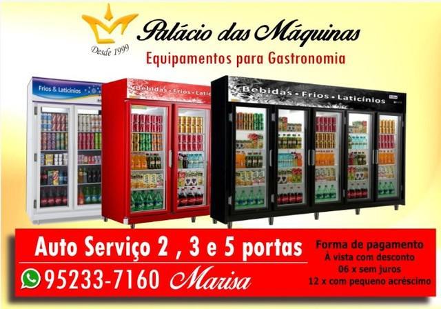 Danoneira*auto serviço*refrigerador*geladeira