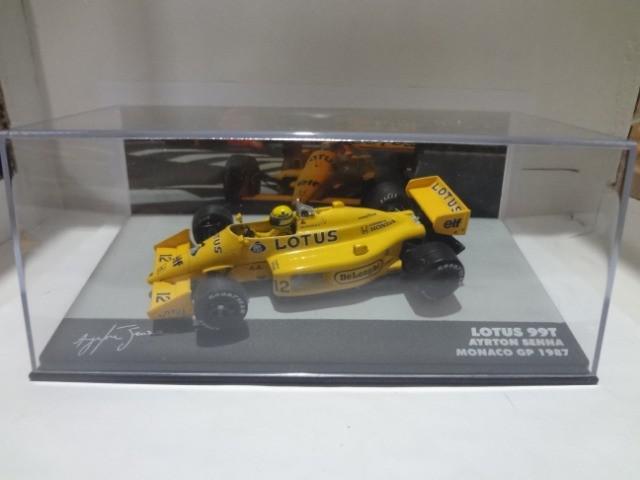 Fórmula 1 Ayrton Senna 1/43 17jcd