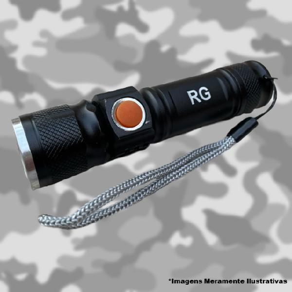 Lanterna tatica 68000w militar longo alcance usb