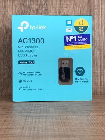 Adaptador usb 3.0 mini wireless mu-mimo ac1300