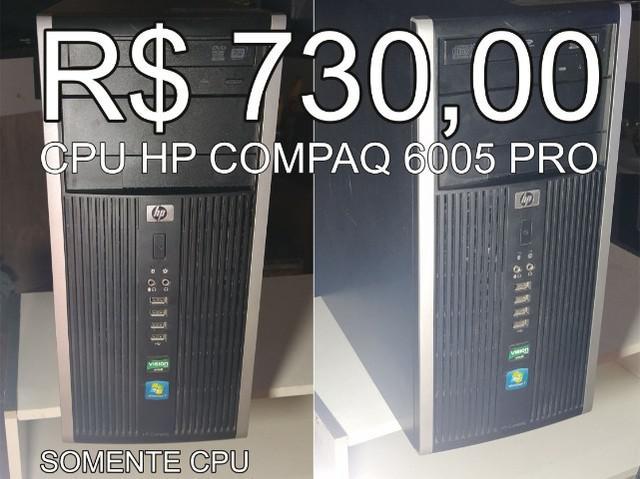Cpu hp amd athlon b24 3,00 ghz - 4gb ddr3 - ssd 128gb