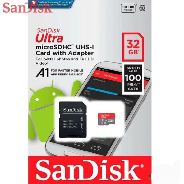 Cartão de memória micro sd cartão microsd sandisk 32gb