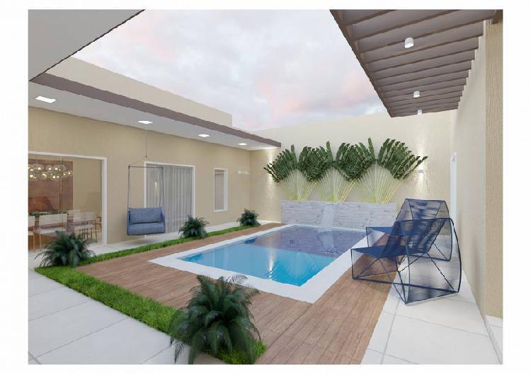 Casa pátio, projeto exclusivo, alto padrão, região de