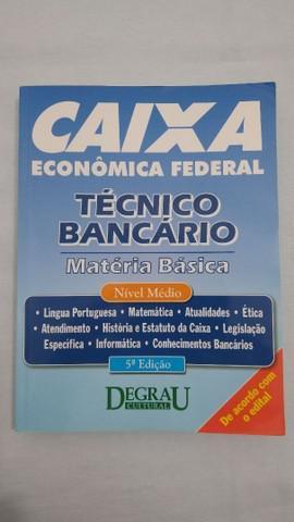 Livro técnico bancário da caixa econômica, de 2014 - em