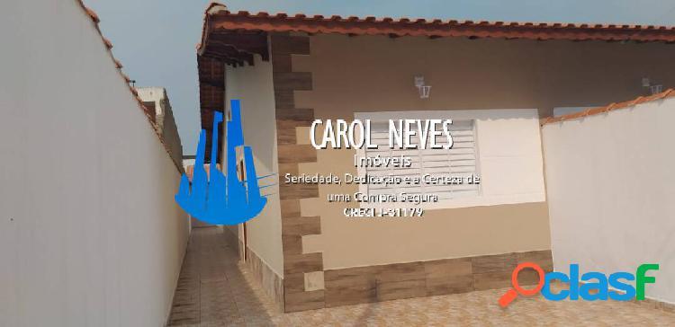 Casa nova 2 dormitórios piscina financiamento bancário jequitimar itanhaém