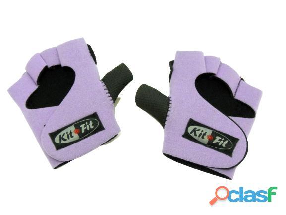 Luva Para Musculação Treino Academia kitfit lilas 1