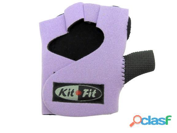 Luva Para Musculação Treino Academia kitfit lilas 2