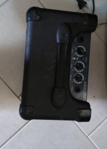 Amplificador guitarra cubo caixa steel