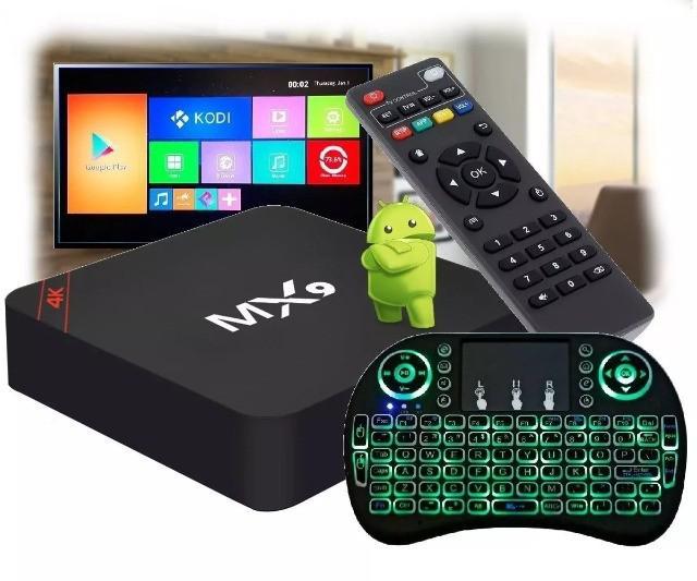 Tv box smart tv mais brinde