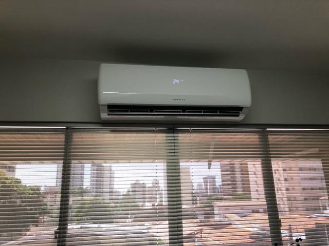 Ar condicionado split 18000btus - perfeito