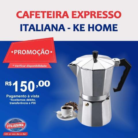 Cafeteira expresso italiana ? entrega grátis