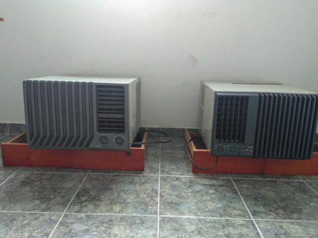 Vendo 2 ar condicionados 7500 btus ótimo estado