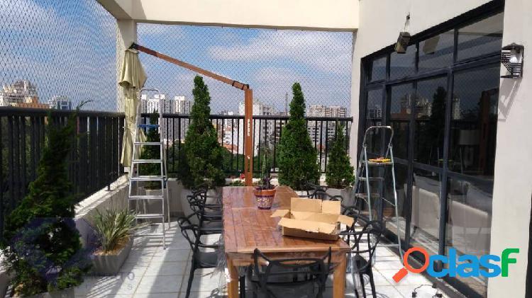 Cobertura duplex 230 metros no klabin 03 suítes 05 vagas de garagem