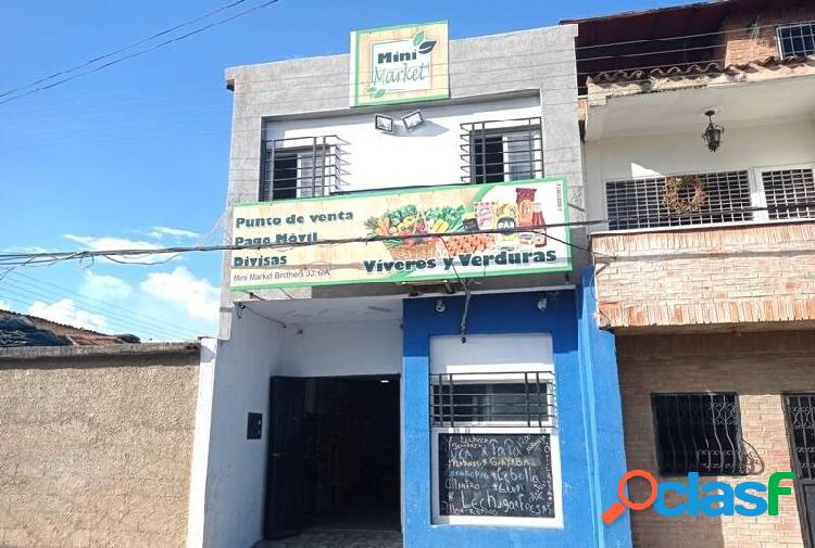 Venta de local de dos niveles en casco central del pueblo de san diego 80m2