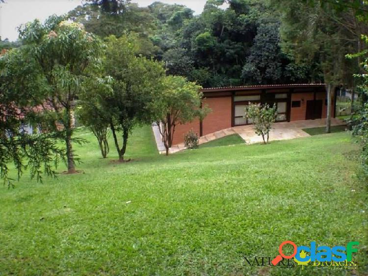 Chác. do refúgio - 1.586 m² de terreno frente p/ app, 1suíte, pode ampliar!