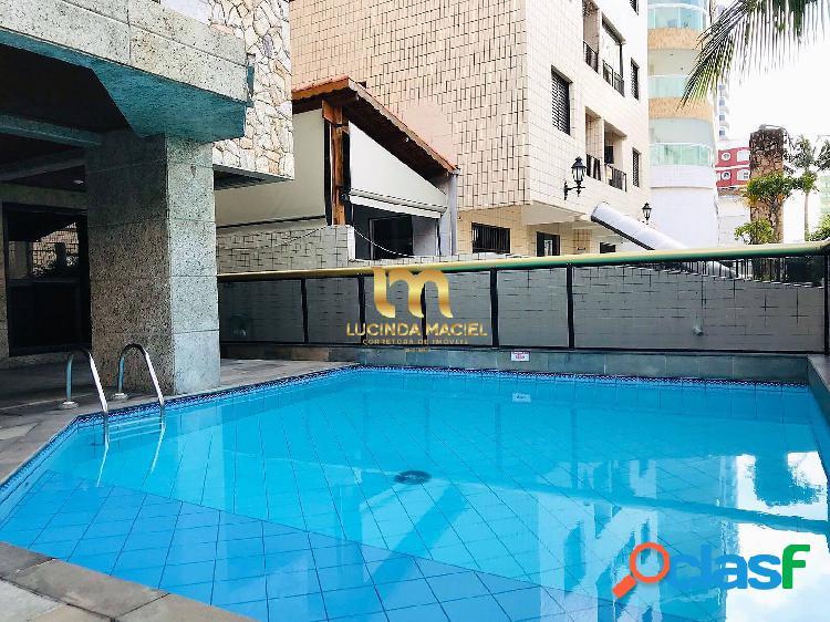 Apartamento 03 dorms, 2 suítes, 150 metros da praia- vila tupi