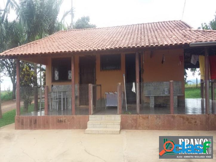Terreno + casa residencial ipéuna- sp