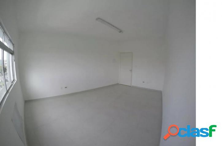 Sala comercial 45 m2 ponta da praia santos