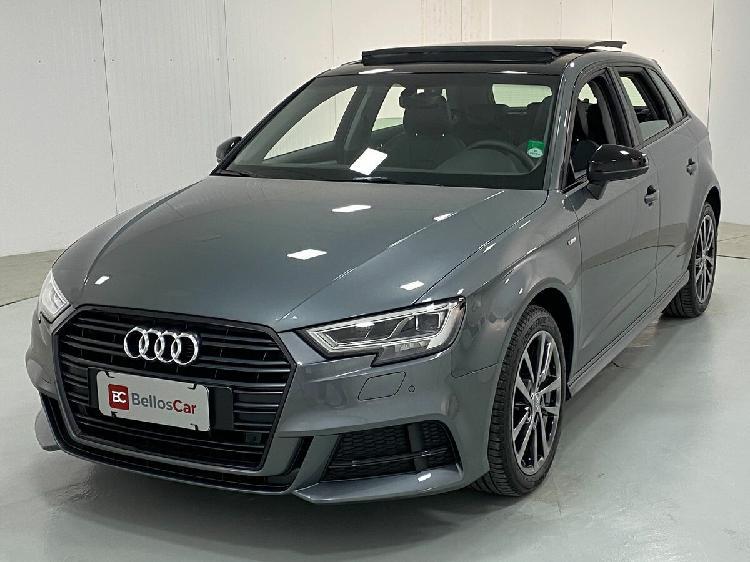 Audi a3 1.4 sportback prestige plus cinza 2020/2020 -