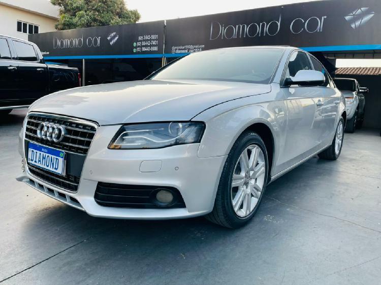 Audi a4 2.0 tfsi prata 2009/2010 - goiânia 1616685