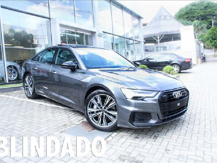 Audi a6 3.0 55 performance black quattro cinza 2020/2021 -