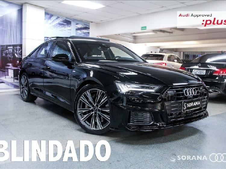 Audi a6 3.0 55 performance black quattro preto 2020/2021 -